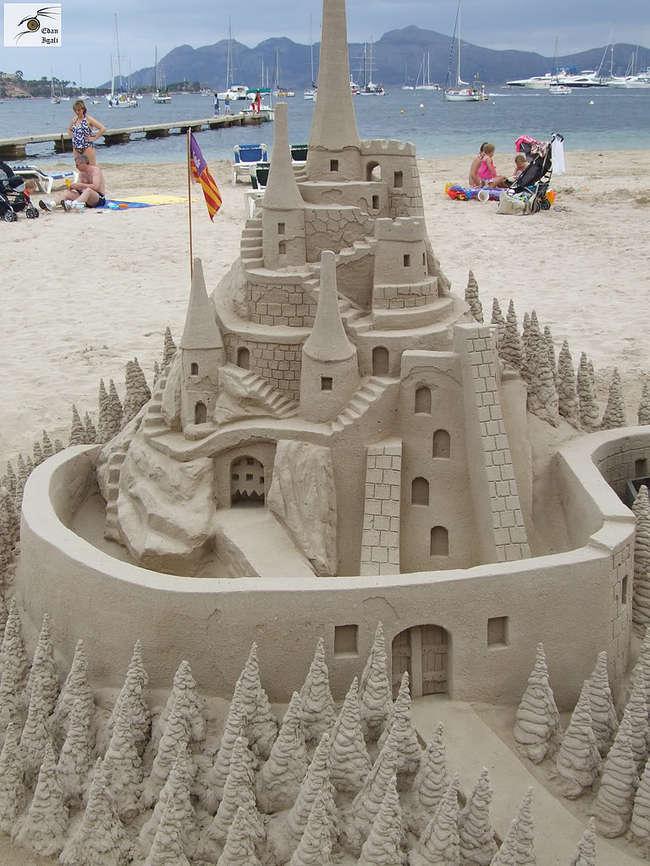 Sand Sculptures 4