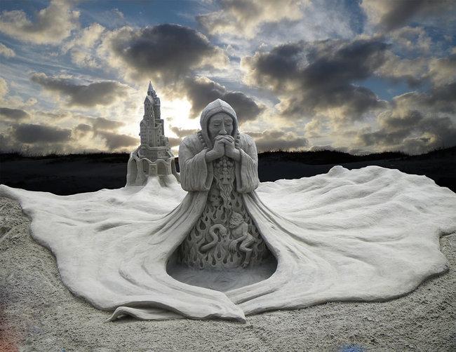 Sand Sculptures 12