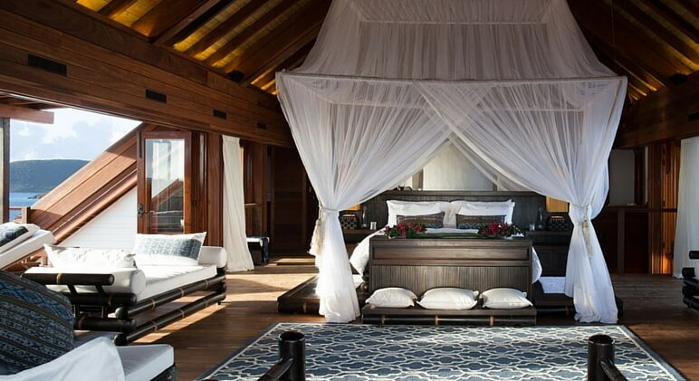 necker island room
