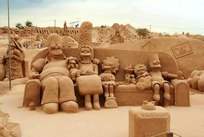 sand sculptures 10