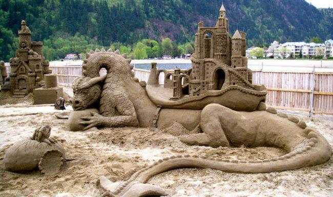 sand sculptures 11