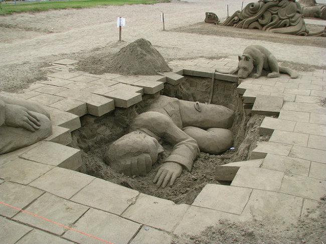 sand sculptures 13