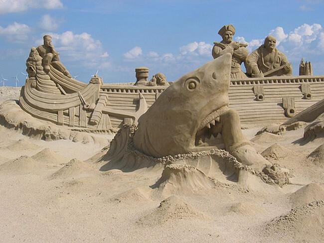 sand sculptures 22