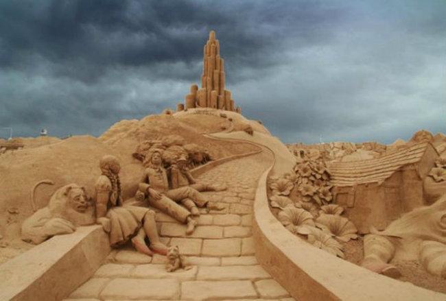 sand sculptures 9