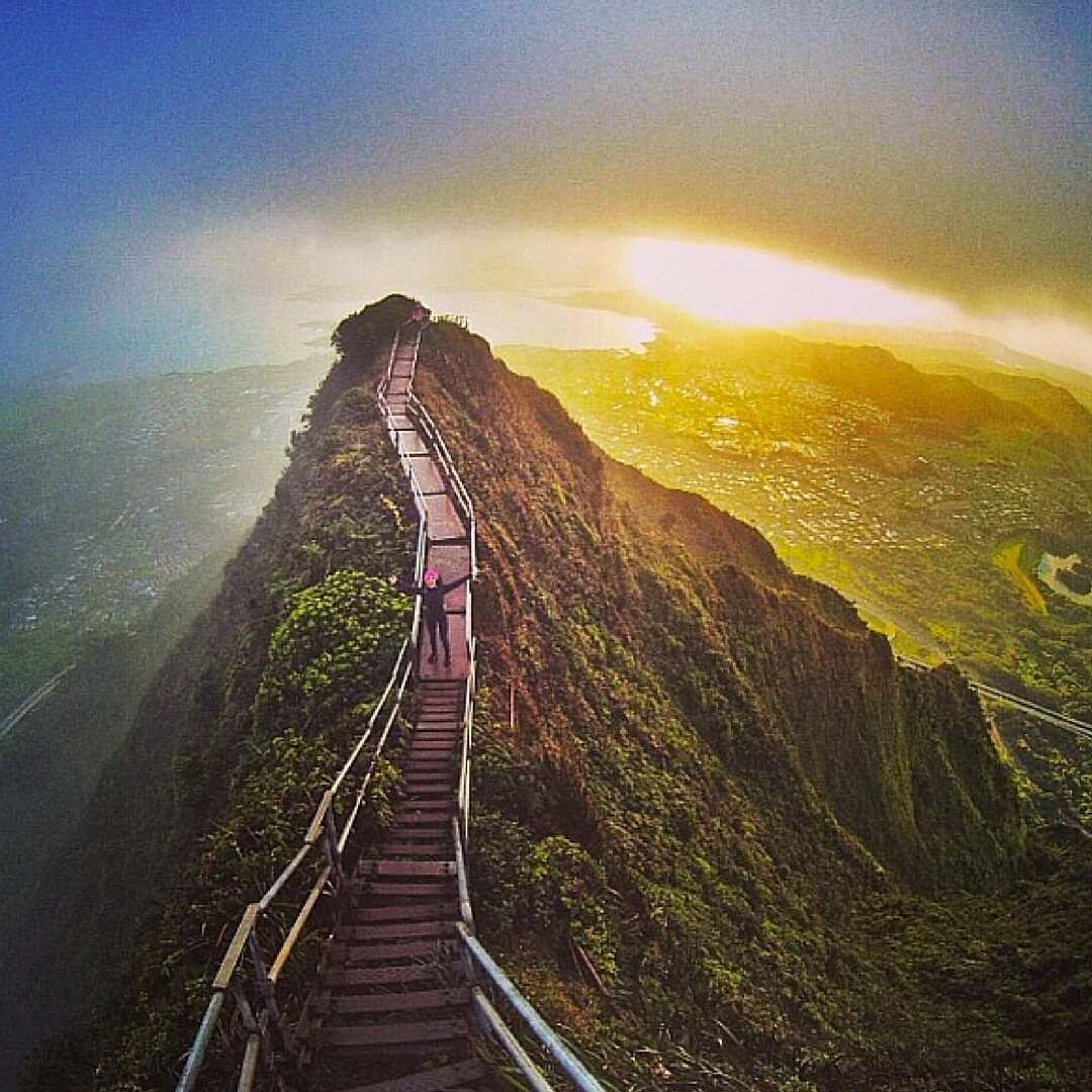 Stairway To Heaven: This Illegal Hawaiian Attraction Is A